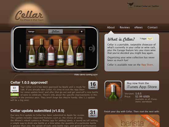 Wine-website-example-cellar urology associates of richmond.
